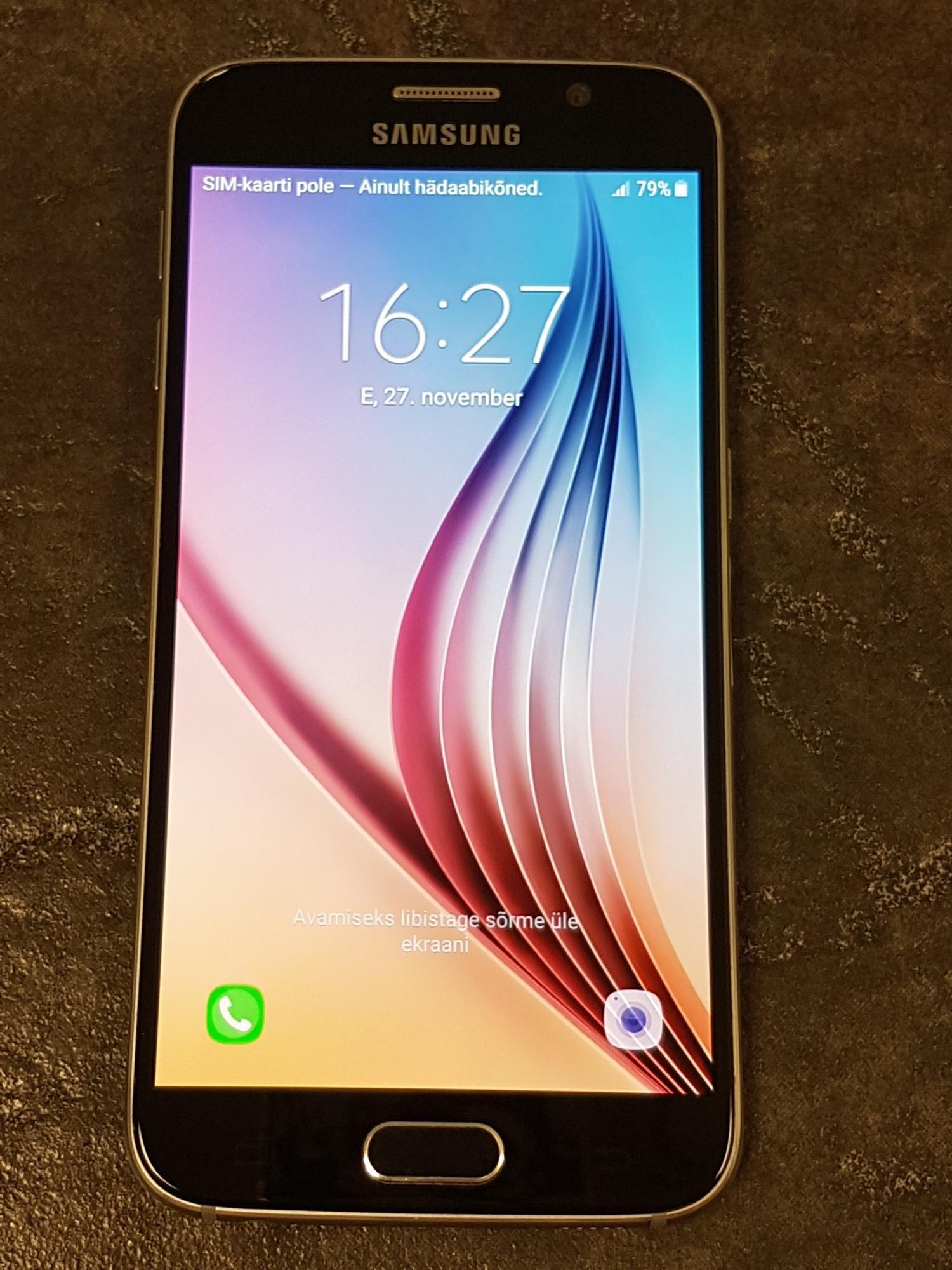 7cfc2557119 Mobiiltelefonid Samsung Galaxy S6 G920F - Luutar