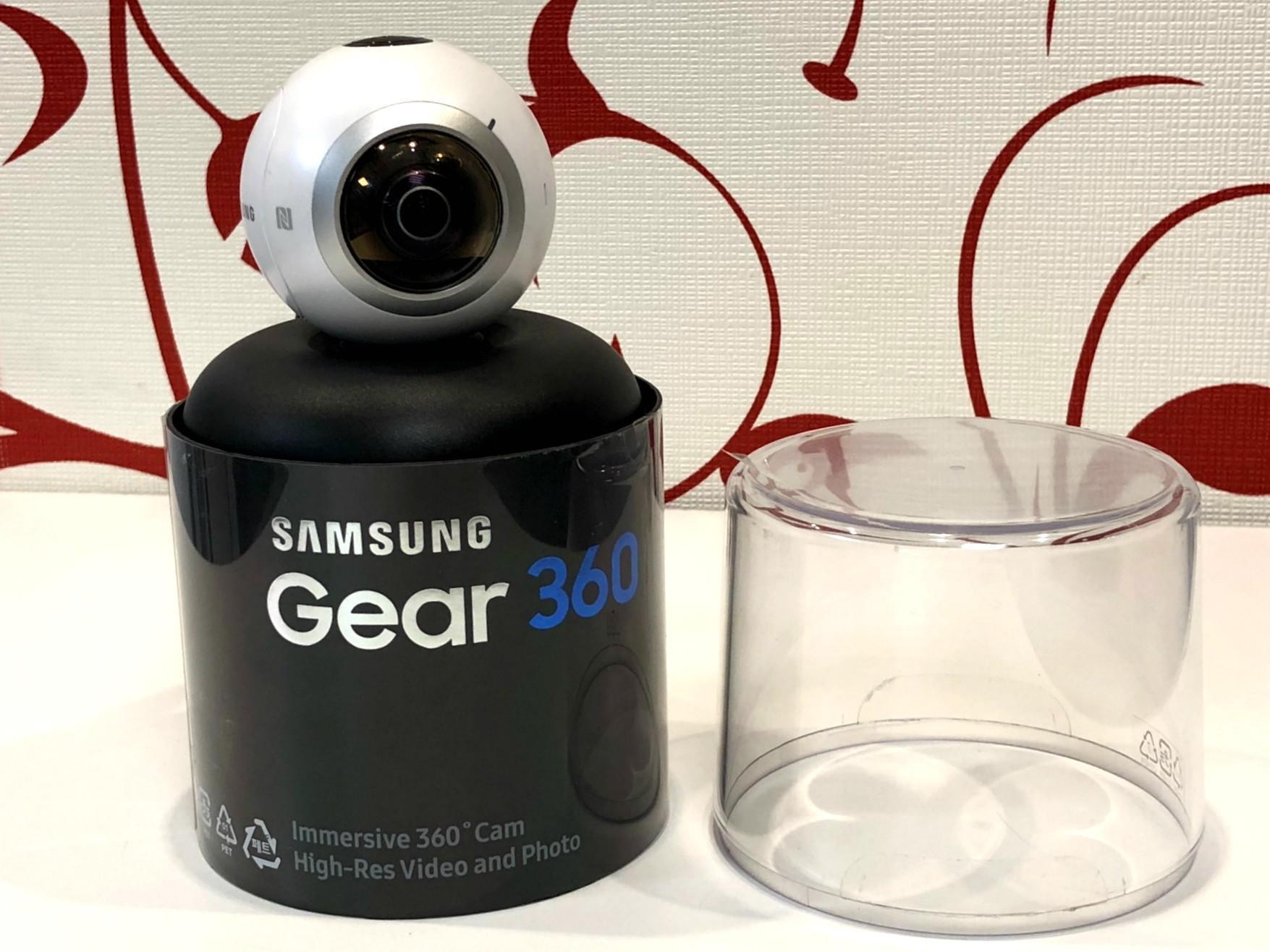 83d5319a437 Seikluskaamera Samsung Gear 360 - Luutar
