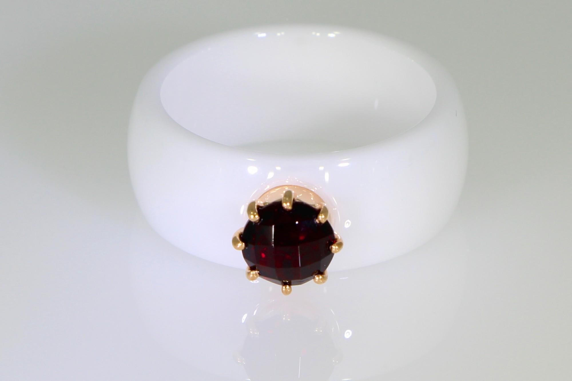 ea415a8c230 Keraamiline sõrmus kullaga 585* Sokolov UUS