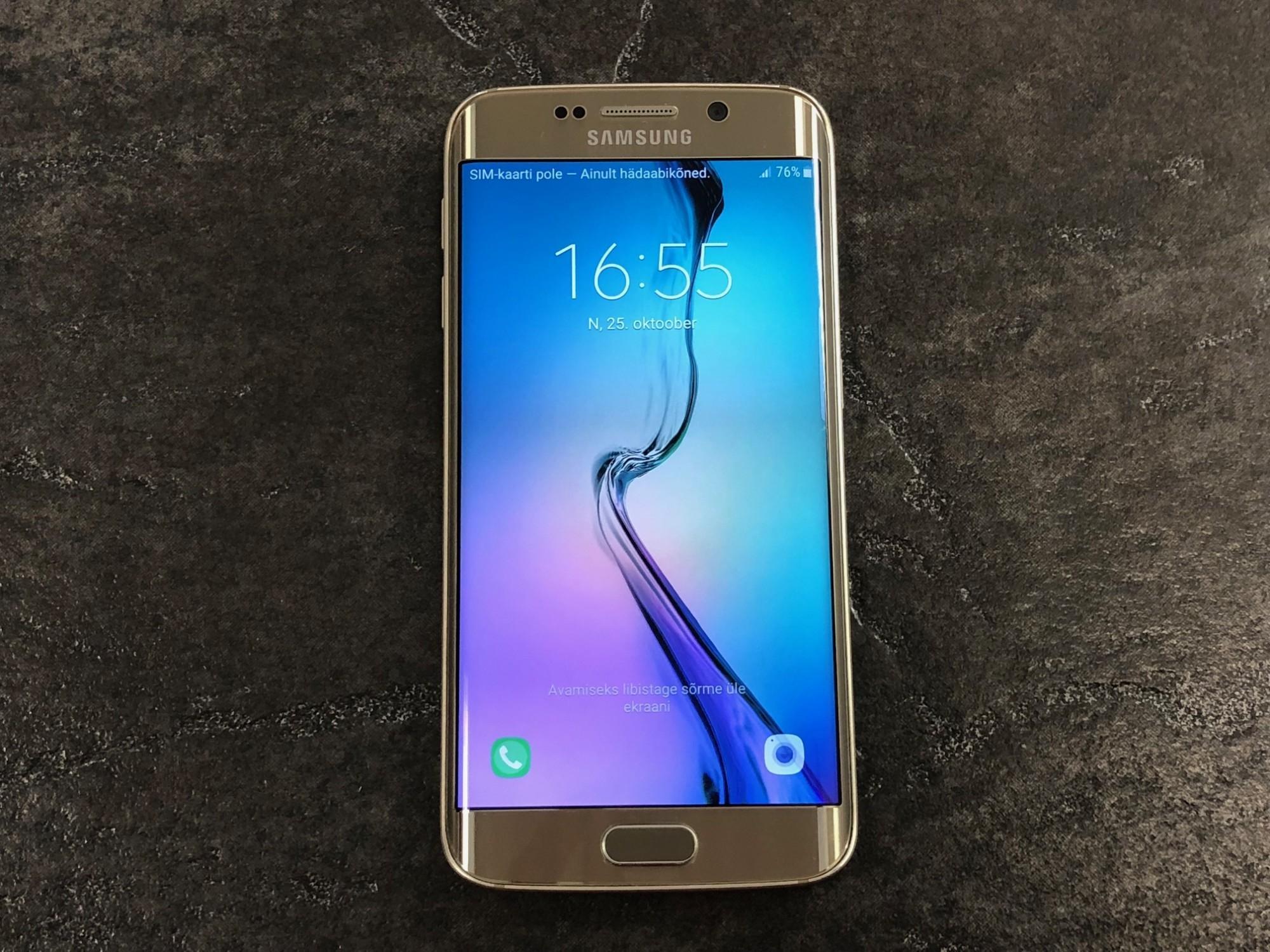 4b44e6a0274 Mobiiltelefonid Samsung Galaxy S6 Edge - Luutar