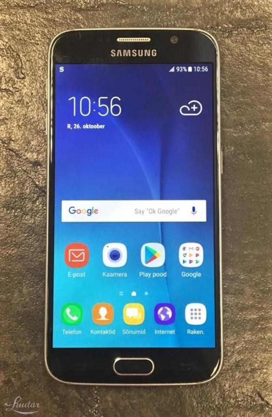 f9f104e0dab Mobiiltelefon Samsung Galaxy S6 32gb SM-G920F ...