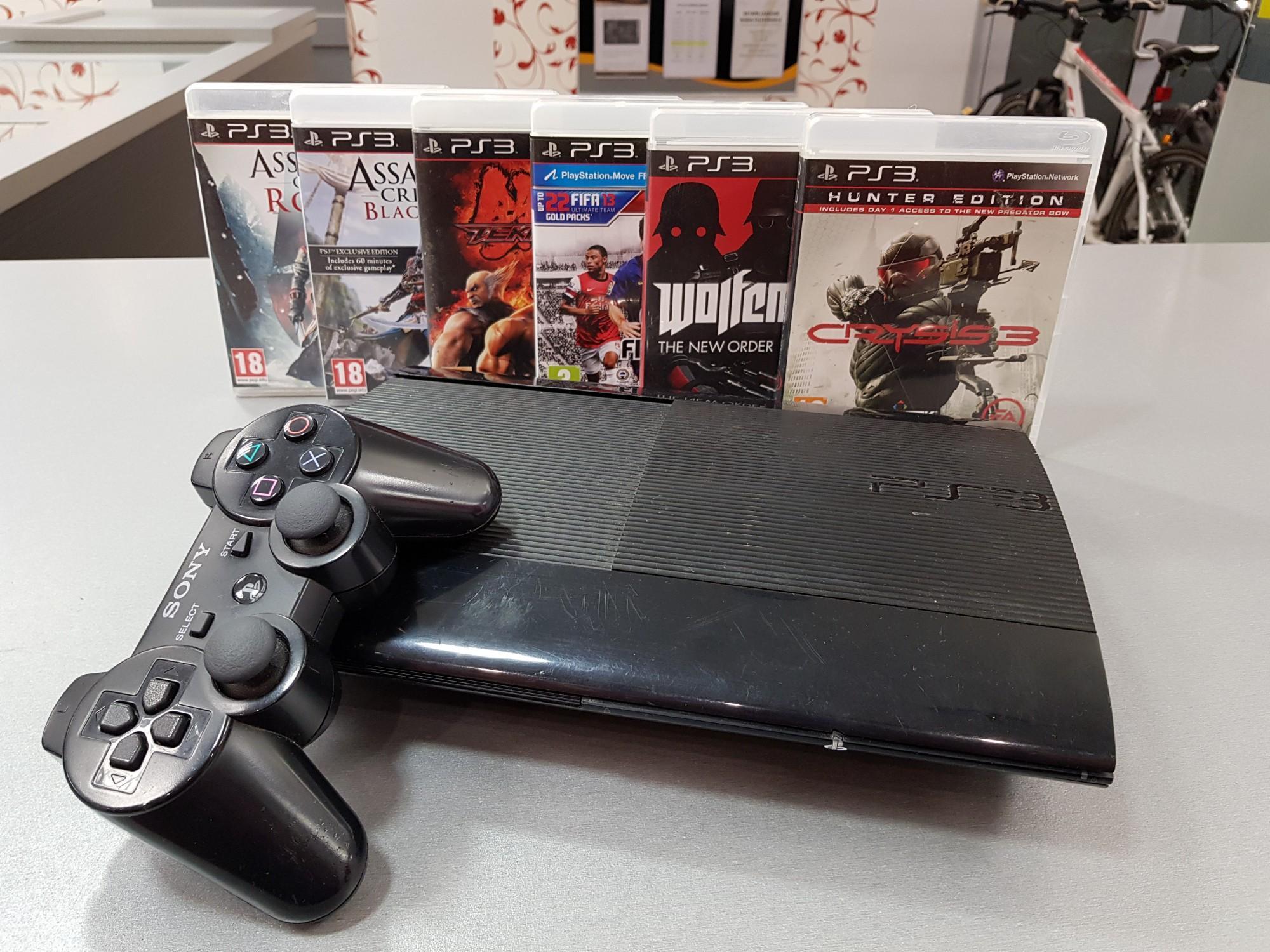 82b6efea9f5 Mängukonsool Sony PlayStation 3 Slim 500GB - Luutar