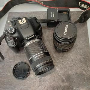 f5dbec9e23b Fotokaamera Canon EOS 550D + Objektiivid EFS 18-55mm + EFS 55-250mm