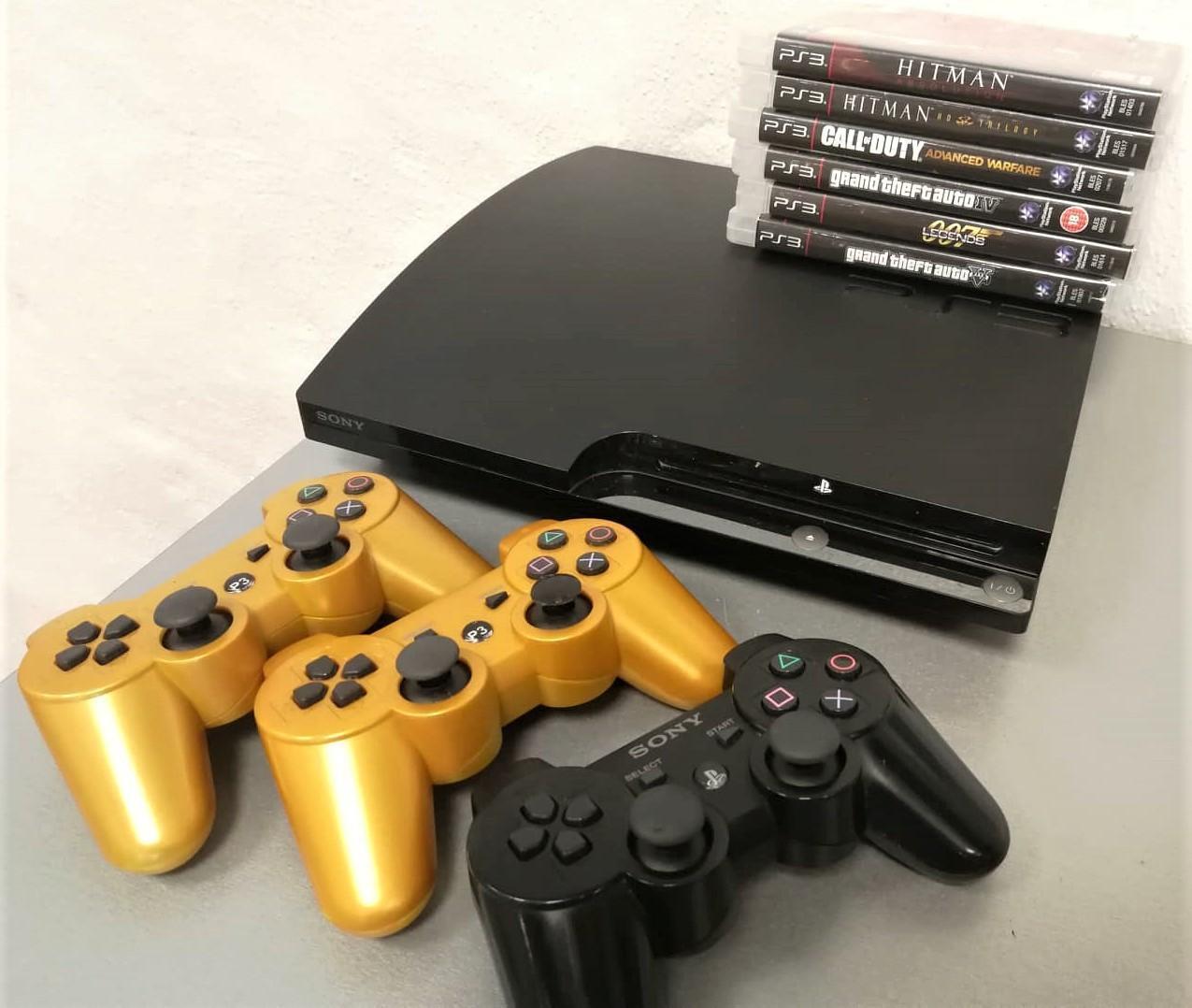 2b70bd1682a Mängukonsool Sony PlayStation 3 120GB CECH-2003A - Luutar