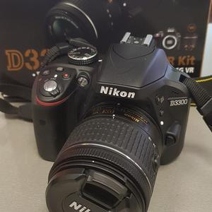 c894d78ac40 Peegelkaamera Nikon D3300 + 18-55mm AF-P VR