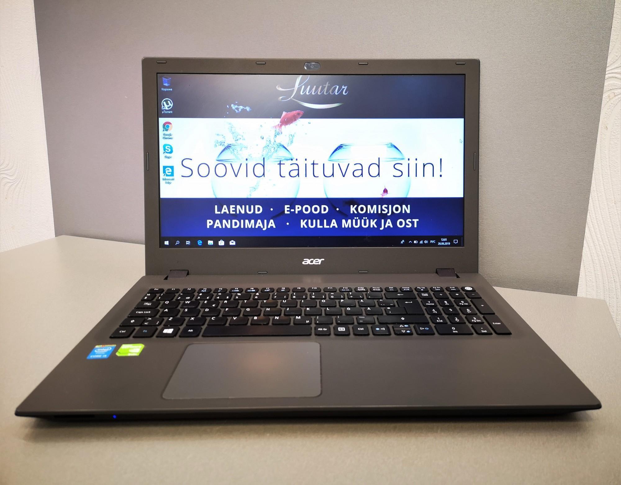 ba5beca70c0 Sülearvutid Acer E5-573G-50W8 - Luutar
