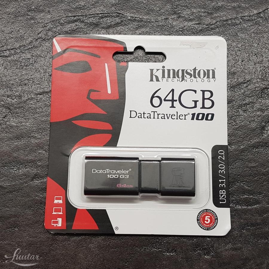 Mälupulk Kingston DT100G3/64GB