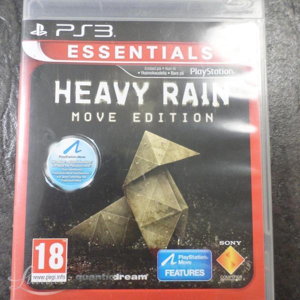 ae4c1ba4a79 PS3 mäng Heavy Rain MOVE EDITION 18+ - Luutar
